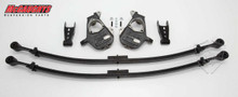 """2/4"""" Chevy Silverado Single Cab Deluxe Leaf Lowering Kit 07-08"""