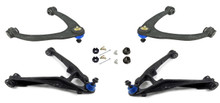 2014-2018 GM 1500 4wd Stamped Steel/Alum Arms Conversion Kit For 3/5-4/6 Drop Kits