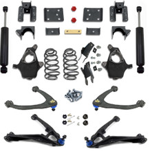 2014-2018 Chevy Silverado 1500 4WD All Cabs 3/5 Or 4/6 Premium Drop Kit - 334270