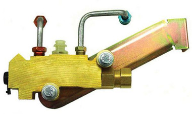 Installed 1960-1987 GM Premium Proportioning Valve W/ Lines, Fittings & Bracket - 700102