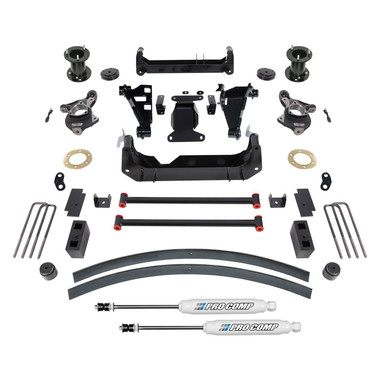 "2014-2018 GMC Sierra 1500 W/ Alum & Stamped Steel Arms 6"" Lift Kit  - Pro Comp K1171B"