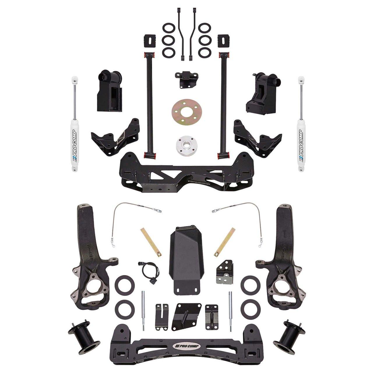 Pro Comp 61252 2.0 Rear Suspension Block Kit for Dodge Ram 1500