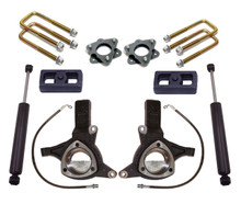 "2007-2018 Chevy & GMC 1500 2wd W/ Cast Steel Arms 4.5/2"" MaxTrac Lift Kit W/ Shocks - K881343"