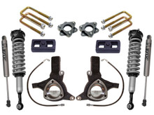 "2016-2018 Chevy & GMC 1500 2wd W/ Stamped Steel / Aluminum Arms 7/4"" MaxTrac Lift Kit W/ FOX Shocks - K881774F"