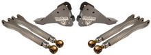 2017-2020 Ford F250/350 Dually 4wd MaxTrac Front Forged Four Link Upgrade Kit - K853300-4
