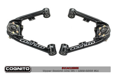 1999-2006 GM 1500 & SUV 2wd/4wd Fabricted Upper Control Arms - Cognito UCAK100009  1999-2006 GM 1500 & SUV 2wd/4wd Fabricated Upper Control Arms - Cognito 110-90289