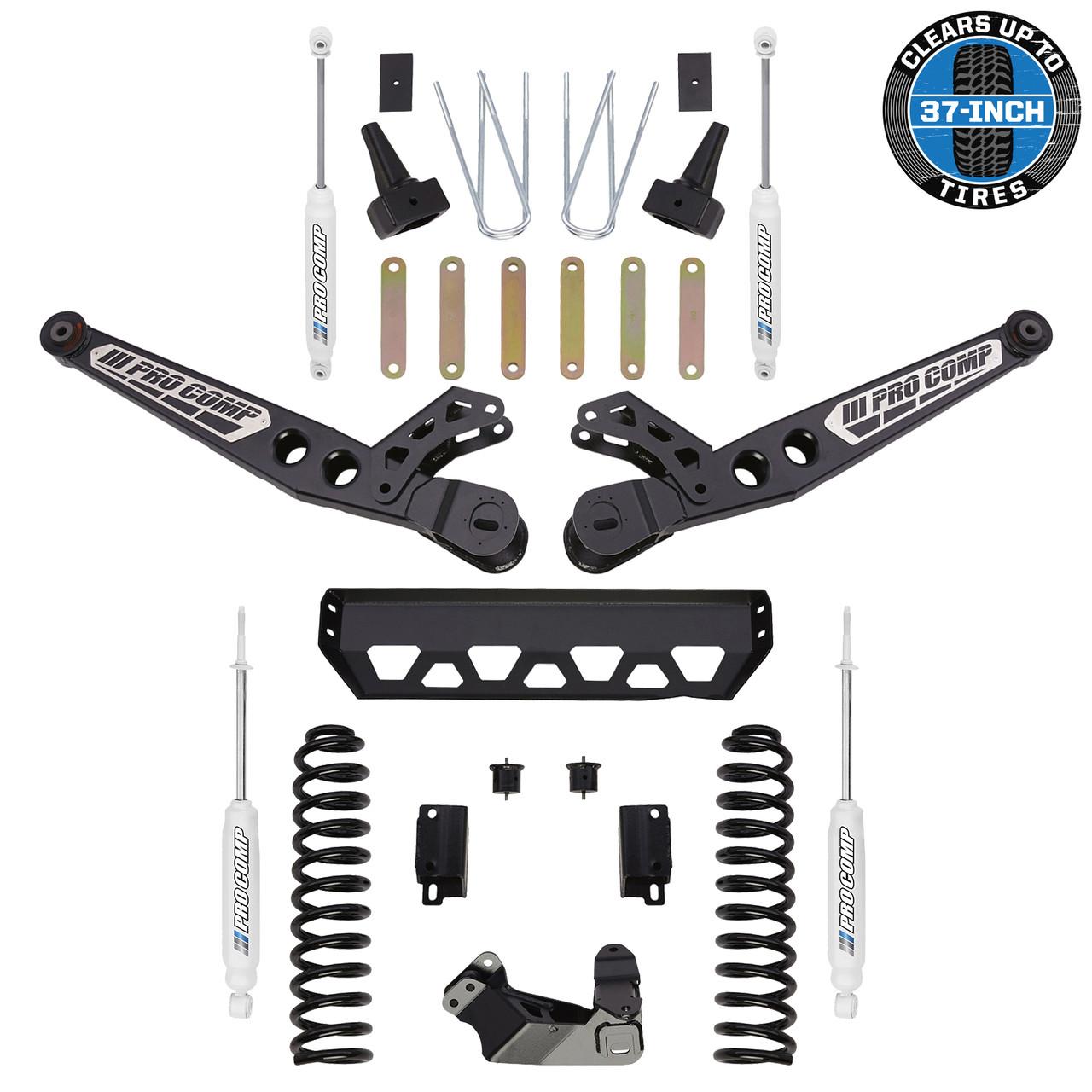 "Front Adjustable Suspension Track Bar for 99-04 2-6/"" Lift Ford F-250 F-350"