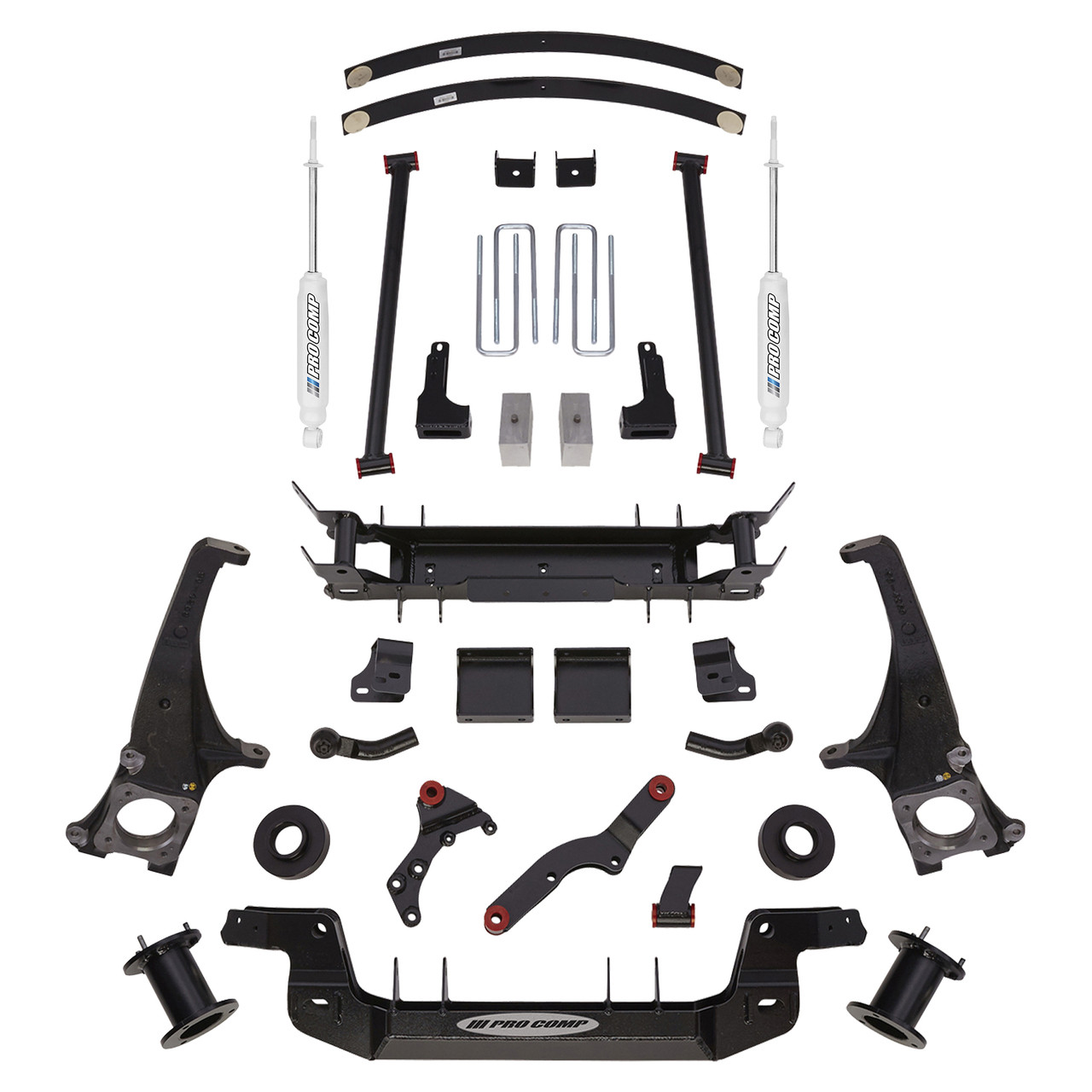 2007 2018 Toyota Tundra 7 Lift Kit Pro Comp K5085b Accessory Kits