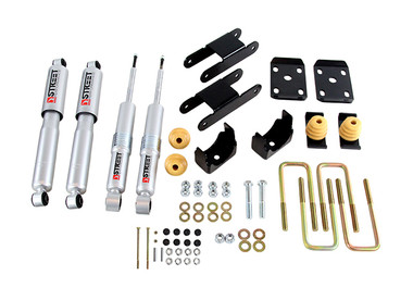 2015-2019 Chevy Colorado & GMC Canyon Ext/Crew Cab 2wd 2/4 Drop Kit - Belltech 999SP