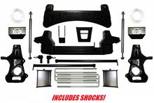 "1999-2006 Chevy & GMC 1500 4wd 7-9"" Full Throttle Lift Kit -  82104"