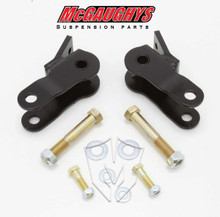 2007-2017 Chevy Silverado & GMC Sierra 1500 Rear Shock Extenders - McGaughys 34044 (Installed)
