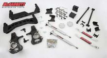 "2014-2018 GMC Sierra 1500 4wd 7-9"" Economy Lift Kit - McGaughys 50775"