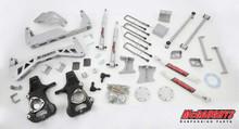 "2014-2018 GMC Sierra 1500 4wd 7""-9"" Silver SS Lift Kit - McGaughys 50779"