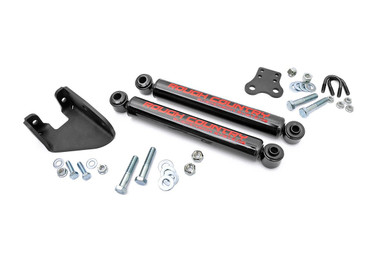 1987-1995 Jeep Wrangler YJ 4wd Dual Steering Stabilizer - Rough Country 87307