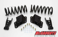 "2/4"" Chevy Silverado Economy Lowering Kit 99-06 extended and quad cabs"