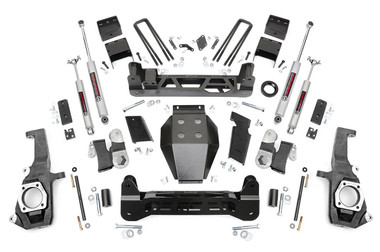 "2011-2019 GM 2500/3500HD 2wd/4wd 7.5"" Lift Kit - Rough Country 253X"