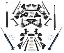 "2007-2014 GM SUV W/O Auto Ride  10-12"" Adjustable Complete Cognito Lift Kit"