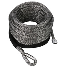 9X100 Synthetic Rope 9.5K-17.6K Bs - Bulldog Winch 20322