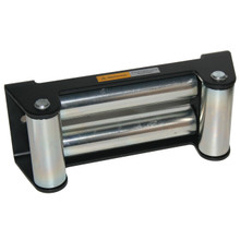 Roller Fairlead With Textured Black Finish - Bulldog Winch 30003T