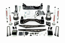 "2019-2020 Chevy & GMC 1500 (2wd) 7-10"" McGaughys Black SS Lift Kit -  McGaughys 50790"