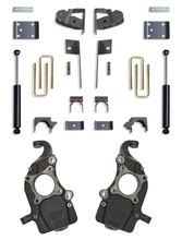"2019-2021 Chevy & GMC 1500 2/4wd 2/4"" Drop Kit W/ Belltech Spindles"