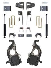 "2019-2022 Chevy & GMC 1500 2/4wd 2/4"" Drop Kit W/ Belltech Spindles"