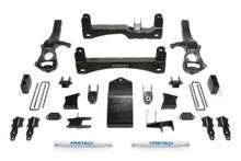 """2019-2021 GM 1500 4wd 6"""" Lift Kit W/ Rear Performance Shocks - Fabtech K1132"""