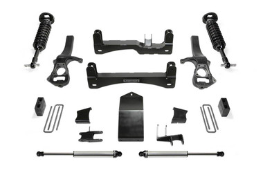 "2019 GM 1500 4wd 6"" Lift Kit W/ Front Dirt Logic Coilovers & Shocks - Fabtech K1133DL"