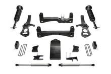 "2019-2022 GM 1500 4wd 6"" Lift Kit W/ Front Dirt Logic Coilovers & Shocks - Fabtech K1133DL"