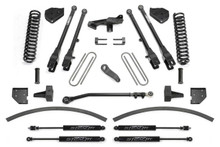 "2017-2018 Ford F-250/F-350 4wd 8"" Lift Kit W/ 4 Link System - Fabtech K2266M"