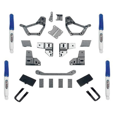 "1986-1995 Toyota Pickup 4"" Stage I Lift Kit w/ 2.5"" Wide Rear U-Bolts - Pro Comp K5054B"