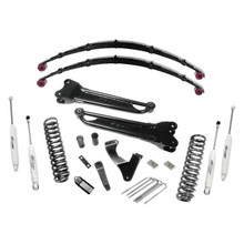 "2008-2010 Ford F-250 & F-350 4wd V10 Diesel Engine 8"" Stage II Lift Kit – Pro Comp K4157B"