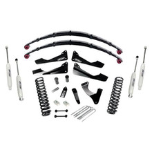 "2008-2010 Ford F-250 & F-350 4wd Diesel Engine 6"" Stage II Lift Kit – Pro Comp K4152B"