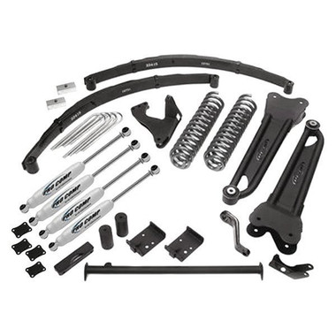"2005-2007 Ford F-250 & F-350 4wd V10 Gas Engine 6"" Stage II Lift Kit – Pro Comp K4040B"