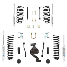 "2007-2018 Jeep Wrangler JK 4wd 2 Door 4"" Stage 1 Lift Kit - Pro Comp K3086B"