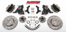 "1963-1970 Chevy & GMC C10 13"" Front Cross Drilled Big Brake Kit 5x5 Bolt Pattern - McGaughys 63148"