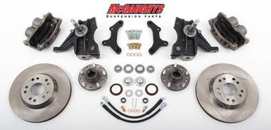 "McGaughys 63151 - 1963-1970 Chevy & GMC C10 13"" Front Big Brake Kit 5x5 Bolt Pattern"
