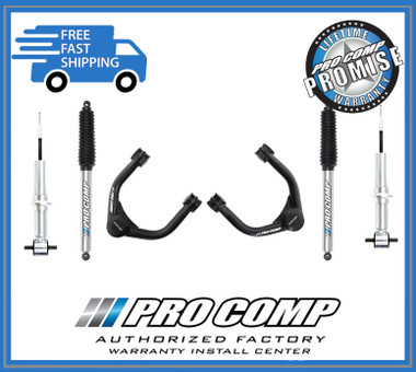 """2014-2018 GM 1500 2wd/4wd w/ Factory Aluminum or Stamped Steel Suspension 2.5"""" Lift Kit - Pro Comp K1114B"""