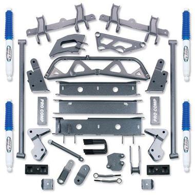 "1993-1999 GM K2500 4wd w/ Stamped Lower Arms 6"" Lift Kit - Pro Comp K1109B"