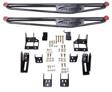 "1999-2010 GM 1500HD / 2500HD 4wd 50"" Traction Bar Kit – Pro Comp 71000B - 71200B"