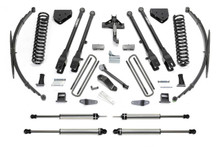 "2011-2013 F-450 [8 Lug] & 2011-2016 Ford F-350 4wd 10"" 4 Link Lift Kit W/ Dirt Logic Shocks - Fabtech K2150DL"