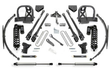 "2008-2010 Ford F-350 4wd 10"" 4 Link Lift Kit W/ Dirt Logic 4.0 Coilovers - Fabtech K20381DL"