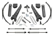 "2008-2016 F-250/F-350 4wd & 2011-2013 F-450 [8 Lug] 10"" 4 Link Lift Kit W/ Dirt Logic Shocks - Fabtech K2149DL"