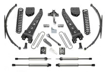 "2005-2007 Ford F-250/F-350 4wd 10"" 4 Radius Arm Lift Kit W/ Dirt Logic Shocks - Fabtech K2048DL"