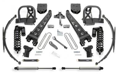 "2005-2007 Ford F-250 / F-350 4wd 10"" Radius Arm Lift Kit W/ Dirt Logic 4.0 Coilovers - Fabtech K2049DL"