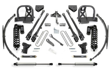 "2005-2007 Ford F-250 / F-350 4wd 10"" 4 Link Lift Kit W/ Dirt Logic 4.0 Coilovers - Fabtech K2041DL"