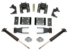 "2007-2018 GM 1500 2wd/4wd Pickup 2/4"" Lowering Kit - MaxTrac K331324S"