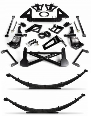 """2011-2019 GM 2500/3500HD 4wd 10-12"""" Adjustable Cognito Lift Kit"""