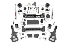 """2019-2021 Dodge Ram 1500 4wd W/ Air Ride 6"""" Lift Kit - Rough Country 33830 & 34430"""
