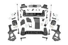 """2019-2020 Chevy & GMC 1500 Trail Boss & AT4 4wd 4"""" Lift Kit - Rough Country 27531"""